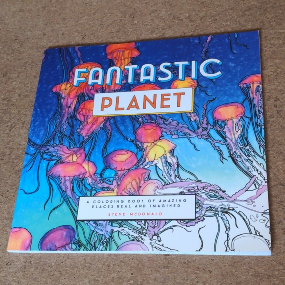 Fantastic Planet Coloring Book